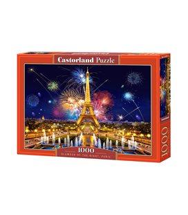 Пазл - Гламур в ночи, Париж (Castorland) 1000 эл.