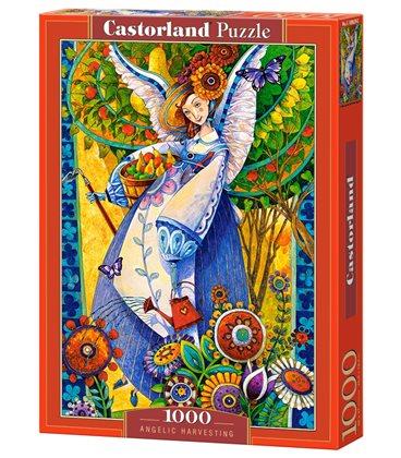 Пазл - Ангельская уборка урожая (Castorland) 1000 эл.
