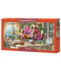 Пазл - Літні квіти і чашка чаю (Castorland) 4000 eл.