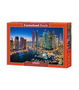 Пазл - Небоскребы Дубая (Castorland) 1500 эл.