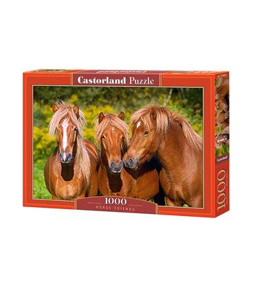 Пазл - Конные Друзья (Castorland) 1000 эл.