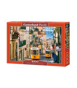 Пазл - Лиссабонские трамваи, Португалия (Castorland) 1000 эл.