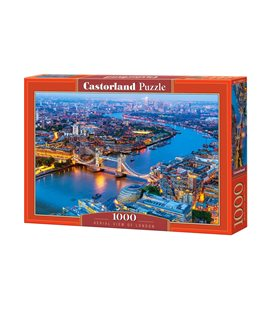 Пазл - Вид с воздуха на Лондон (Castorland) 1000 эл.