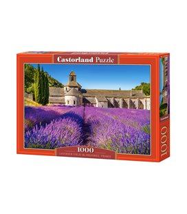 Пазл - Лавандовое поле в Провансе, Франция (Castorland) 1000 эл.