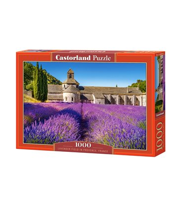 Пазл - Лавандове поле в Провансі, Франція (Castorland) 1000 eл.
