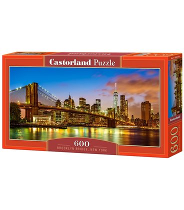 Пазл - Бруклинский мост, Нью-Йорк (Castorland) 600 эл.