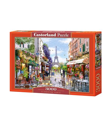Пазл - Квітучий Париж (Castorland) 3000 eл.