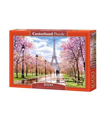 Пазл - Романтическая прогулка в Париже (Castorland) 1000 эл.