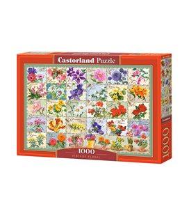 Пазл - Винтаж цветочные (Castorland) 1000 эл.