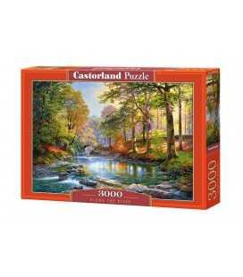 Пазл - Уздовж річки (Castorland) 3000 ел.