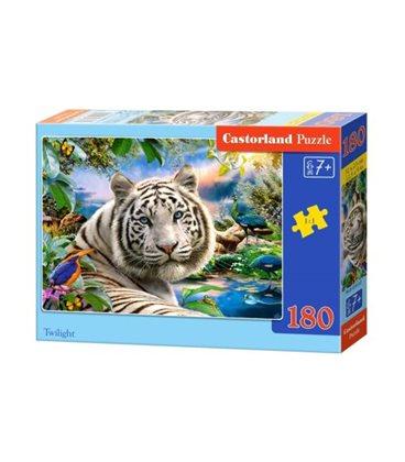 """Пазлы """"Белый тигр"""", 180 эл В-018192"""