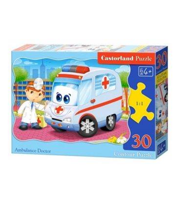"""Пазли """"Машина швидкої допомоги"""", 30 елементів В-03471"""