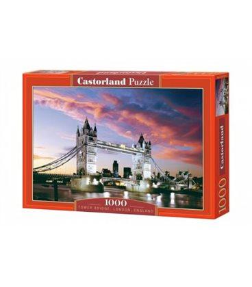 """Пазлы """"Ночной мост, Tower Bridge, London, England"""", 1000 эл С-101122"""