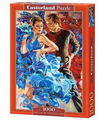 """Пазлы """"Пара в танце"""", 1000 эл 3287"""