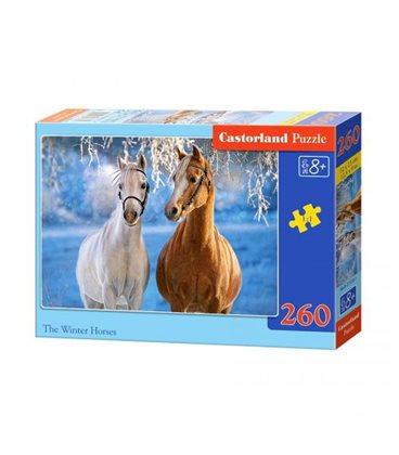 """Пазли """"Пара коней"""", 260 елементів В-27378"""