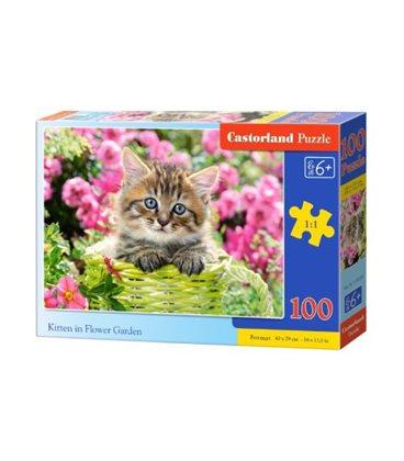 "Пазли ""Кошеня"", 100 елементів В-111039"