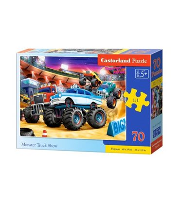 "Пазлы ""Monster Truck Show"", 70 элементов B-070077"