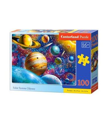 "Пазли ""Сонячна система"", 100 елементів B-111 077"