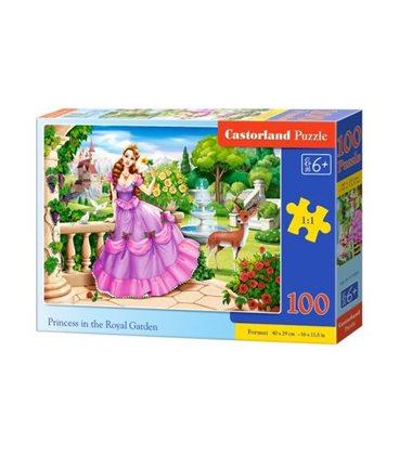 """Пазли """"Принцеса в королівському саду"""", 100 елементів B-111091"""