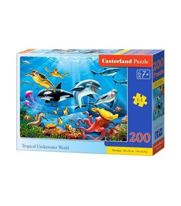 """Пазлы """"Тропический подводный мир"""", 200 элементов B-222094"""