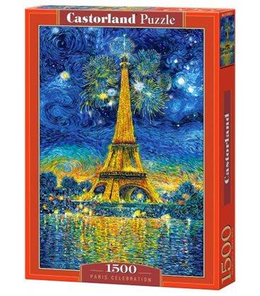 "Пазли ""Париж"", 1500 елементів C-сто п'ятьдесят одна тисяча вісімсот п'ятьдесят одна"