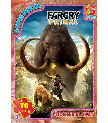 "Пазли ""Far Cry: мамонт"", 70 ел FCP03"