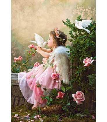 Пазл - Поцелуй ангела (Castorland) 1000 эл.