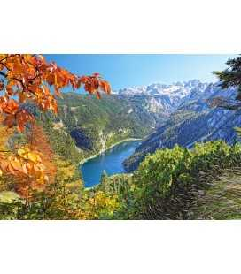 Пазл - Озера в Альпах (Castorland) 2000 ел.