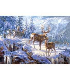 Пазл - Зимовий світло (Castorland) 1000 ел.