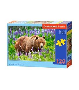 """Пазлы """"Медведь"""", 120 эл В-13425"""