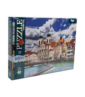 "Пазлы ""Костел, Люцерн Швейцария"", 1000 элементов C1000-10-04"