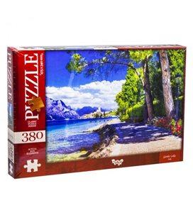 "Пазлы ""Озеро Гарда, Италия"", 380 эл C380-04-07"