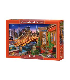 Пазлы - Огни Бруклинского Моста (1000 ) эл C-104598