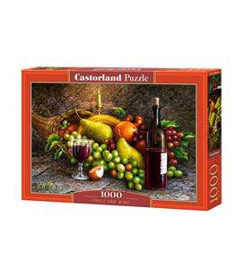 Пазл - Фрукты и Вино (Castorland) 1000 эл. C-104604