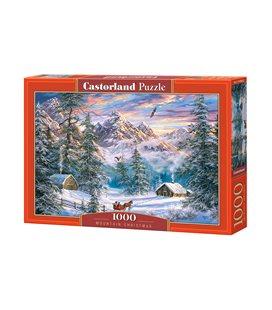 Пазл - Горное Рождество (Castorland) 1000 эл.