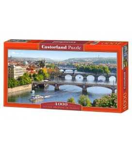 Пазл - Мосты в Праге (Castorland) 4000 эл.