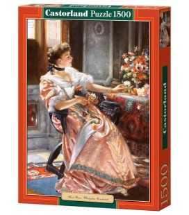 Пазл - Первые розы (Castorland) 1500 эл.