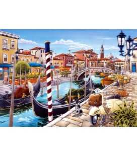 Пазл - Венецианский канал (Castorland) 1000 эл.