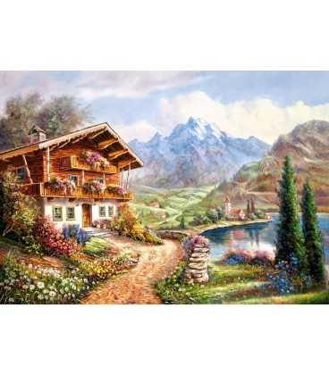Пазл - Сельский домик (Castorland) 2000 эл.