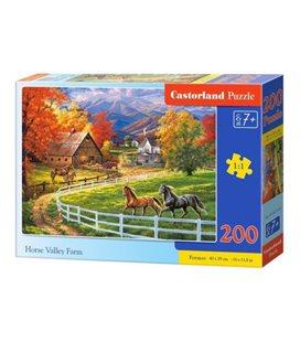 Пазлы Ферма конной долины, 200 элементов B-222124