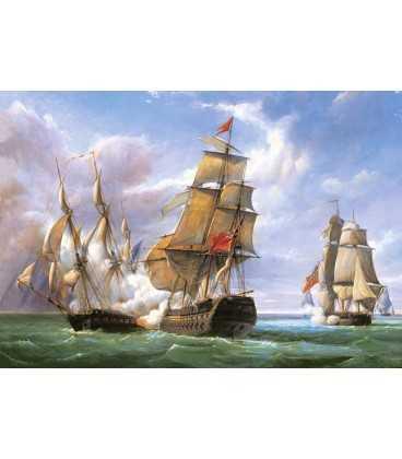 Пазл - Морское сражение