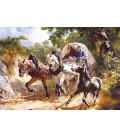 Пазл - Віз на вузькій дорозі (Castorland) 3000 ел.