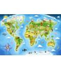 Пазл - Карта Світу (Castorland) 40 ел.