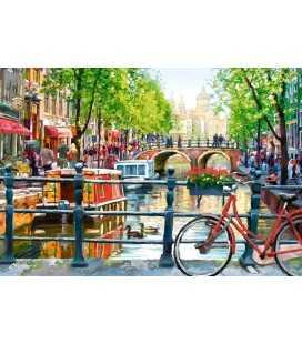 Пазл - Амстердам (Castorland) 1000 эл.