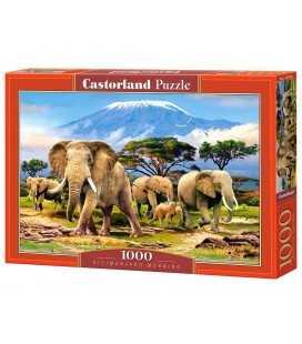 Пазл - Утро в Килиманджаро (Castorland) 1000 эл.