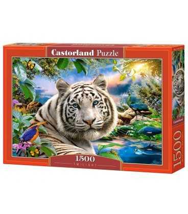 Пазл - Тигр в сутінках (Castorland) 1500 ел.