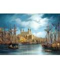 Пазл - Новый день в порту (Castorland) 3000 эл.