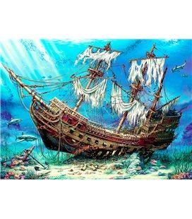 Пазл - Затонувший корабль (Anatolian) 1500 эл. 4558