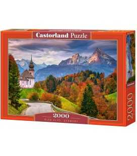"""Пазли """"Осінь в Баварських Альпах, Німеччина"""", 2000 ел C-200795"""