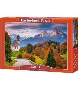 """Пазлы """"Осень в Баварских Альпах, Германия"""", 2000 эл C-200795"""